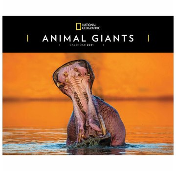 CarouselCalendars Animal Giants Calendar 2021 XL