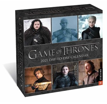 Andrews McMeel A Game of Thrones Boxed Kalender 2021
