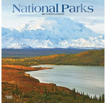 Browntrout National Parks Calendar 2021