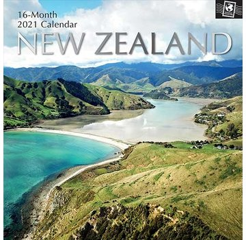 The Gifted Stationary New Zealand Calendar 2021