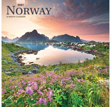 Browntrout Norway / Norway Calendar 2021