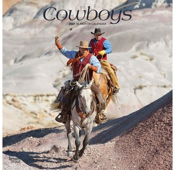 Browntrout Cowboys Calendrier 2021