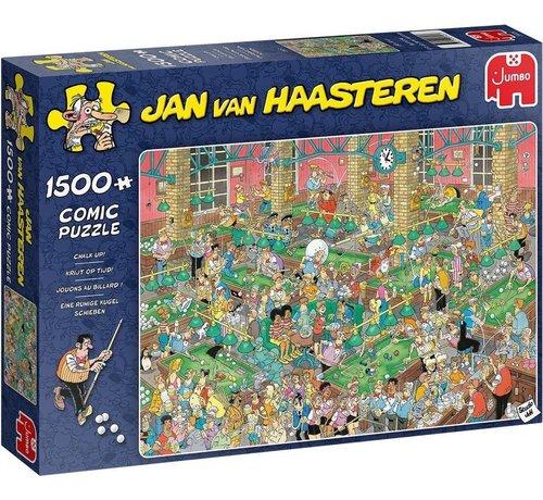 Jumbo Jan van Haasteren – Chalk Up! Puzzle 1500 Pieces