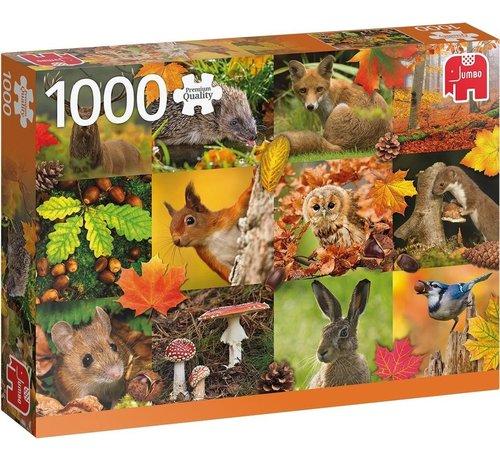 Jumbo Autumn Animals Puzzel 1000 stukjes
