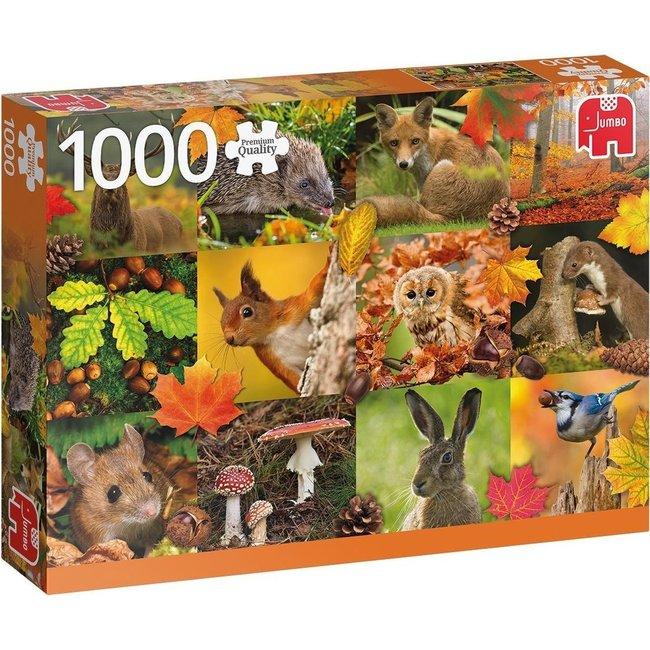 Autumn Animals Puzzel 1000 stukjes