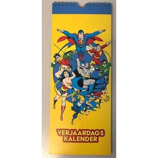 Lannoo Superheroes Birthday Calendar