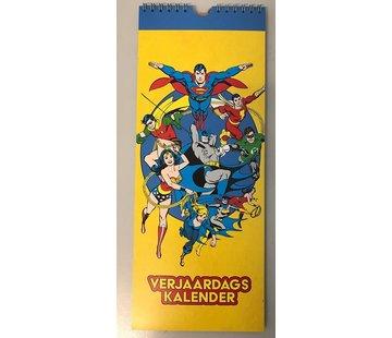 Lannoo Superheroes anniversaire Calendrier