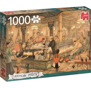 Jumbo Puzzel Anton Pieck Poffertjeskraam 1000 Stukjes