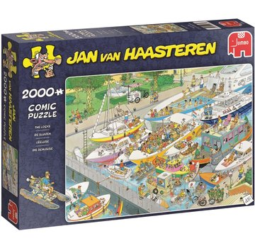 Jumbo Jan van Haasteren – The Locks Puzzle 2000 Pieces