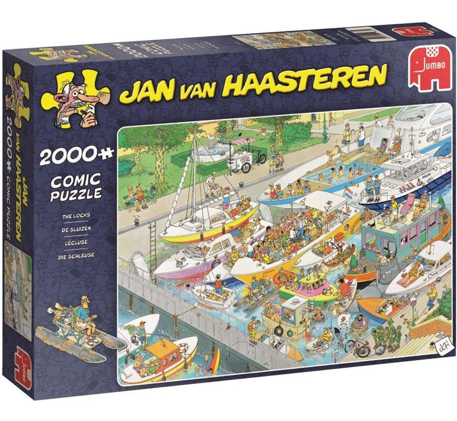 Jan van Haasteren – De Sluizen Puzzel 2000 Stukjes
