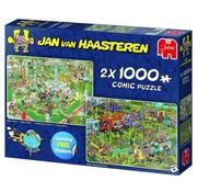 Jumbo Jan van Haasteren – Food Festival Puzzle 2x 1000 Pieces
