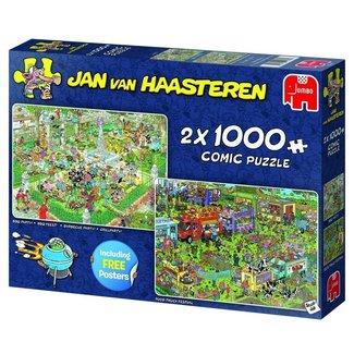 Jan van Haasteren Jan van Haasteren – Food Festival Puzzel 2x 1000 Stukjes