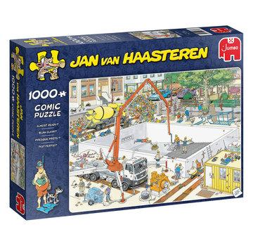 Jumbo Jan van Haasteren – Bijna Klaar! Puzzel 1000 Stukjes