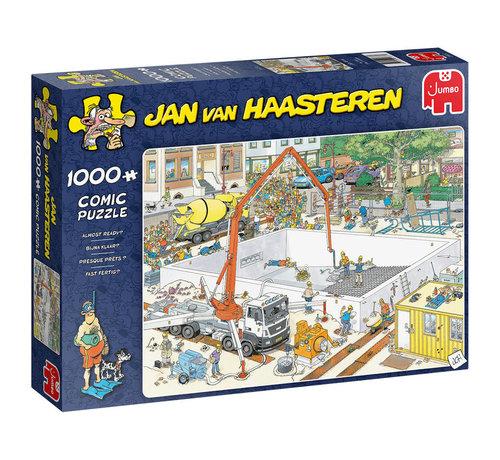 Jumbo Jan van Haasteren – Almost Ready 1000 Pieces