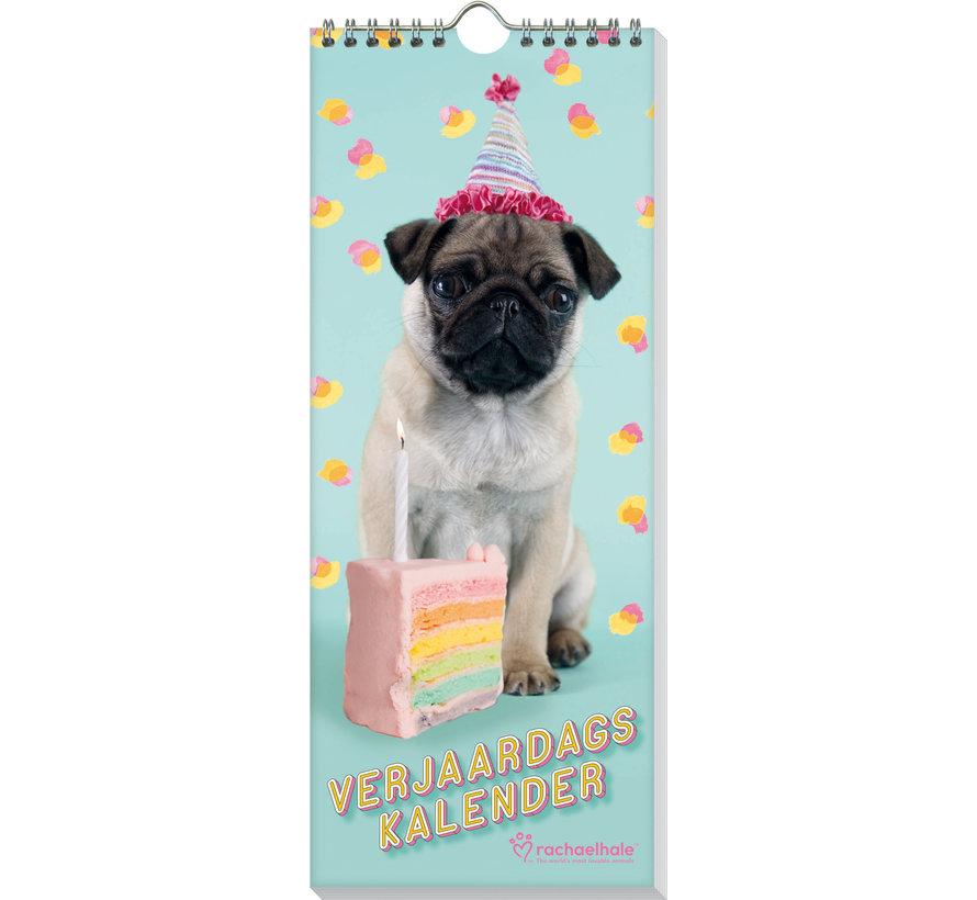 Puppies Rachel Hale Birthday Calendar