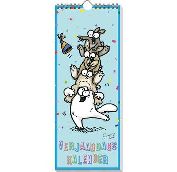 Inter-Stat Simon's Cat Birthday Calendar