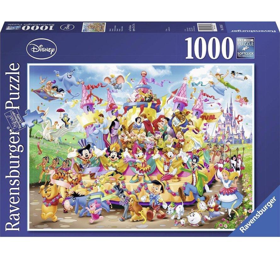 Disney Carnival Puzzel 1000 Stukjes
