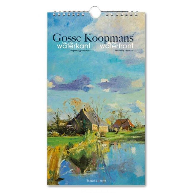 Aan de waterkant, Gosse Koopmans Verjaardagskalender