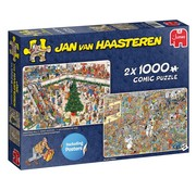 Jumbo Jan van Haasteren – Christmas Mall Puzzle 2x 1000 Pieces
