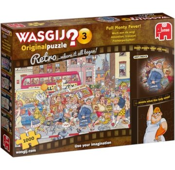 Jumbo Wasgij 3 Retro Arbeit auf dem Highway 1000 Puzzle pieces