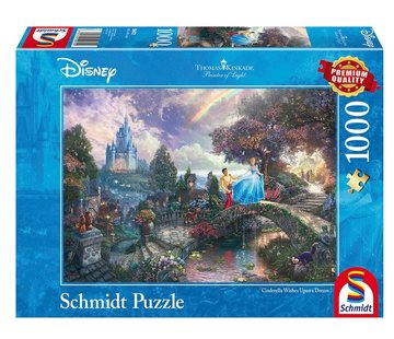 Schmidt Puzzle Puzzel Disney Cinderella 1000 Stukjes