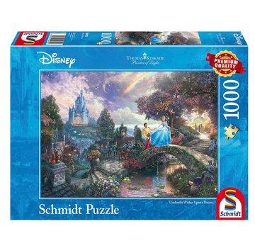 Schmidt Puzzle Disney Cendrillon Puzzle 1000 Pièces
