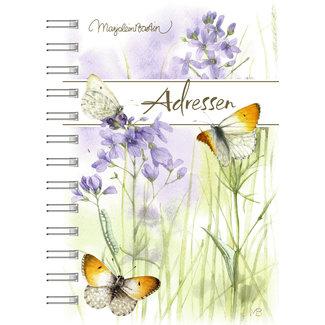 Hallmark Marjolein Bastin Adresboek Butterflies