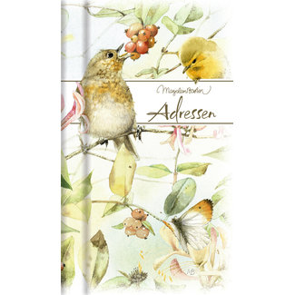 Hallmark Marjolein Bastin Address Book Birds