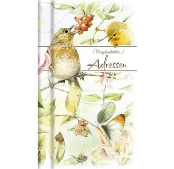 Hallmark Marjolein Bastin Address Book Birds