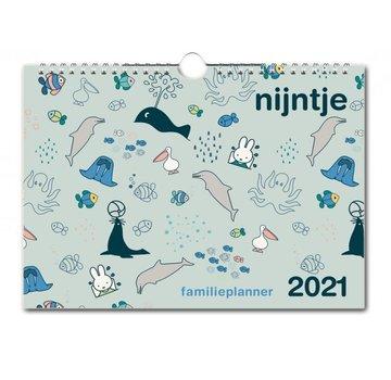 Bekking & Blitz Miffy famille Planner 2021