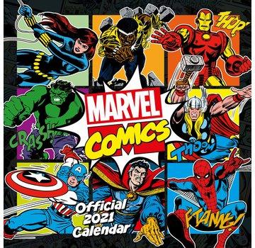 Danilo Marvel Comics Calendar 2021