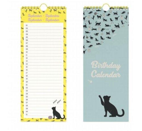 Lannoo Katten Verjaardagskalender