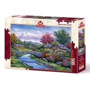 Art Puzzle Arc Bridge Puzzel 500 Stukjes