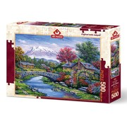 Art Puzzle Arc-Brücke Puzzle 500 Stück