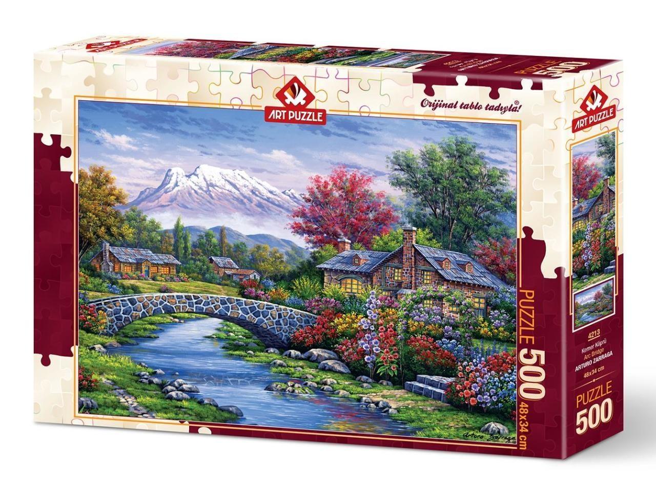 Arc Bridge Puzzel 500 Stukjes Art Puzzle