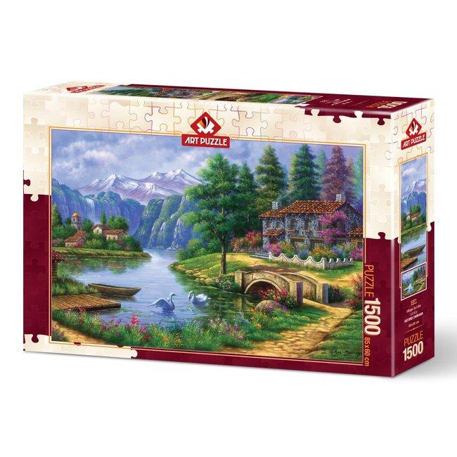 Art Puzzle Lake Village Puzzle 1500 Teile