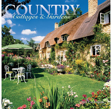 CarouselCalendars Country Cottages and Gardens Calendar 2021