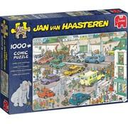 Jumbo Jan van Haasteren – Jumbo gaat Winkelen Puzzel 1000 Stukjes
