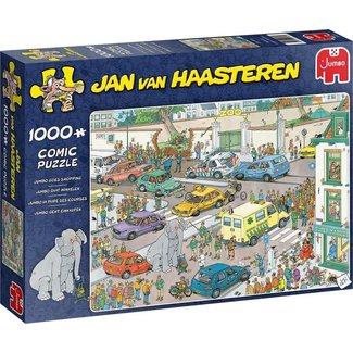 Jan van Haasteren Jan van Haasteren - Jumbo 1000 Einkaufs Puzzle Pieces