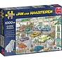 Jan van Haasteren - Jumbo Goes Shopping 1000 Puzzle Pieces