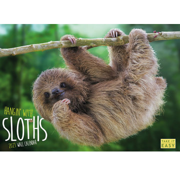 ML Publishing Hanging with Sloths Calendar 2021