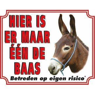 Stickerkoning Donkey Wake Board - But the Boss