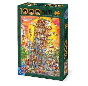 Dtoys Toren van Pisa Cartoon  Puzzel 1000 Stukjes