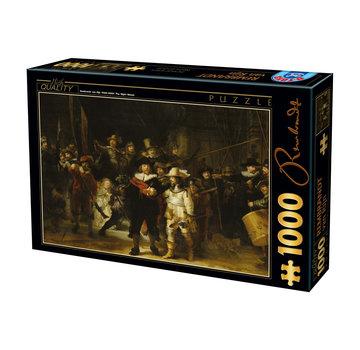Dtoys Rembrandt Nachtwacht Puzzel 1000 Stukjes