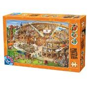 Dtoys Cartoon het Colosseum Puzzel 1000 Stukjes