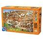Cartoon het Colosseum Puzzel 1000 Stukjes
