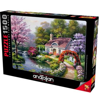 Anatolian Spring Cottage In voller Blüte 1500 Puzzleteile
