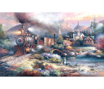 SunsOut Maryland Mountain Express Puzzle XXL 300 Pièces