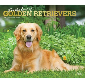 Browntrout Golden Retriever Kalender 2021 Deluxe