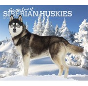 Browntrout Husky sibérien Deluxe Calendrier 2021